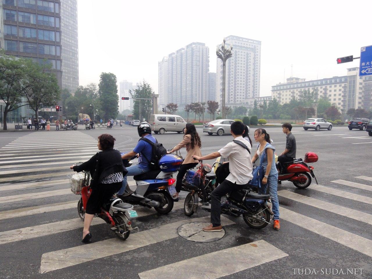 Улицы Чэнду