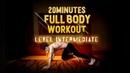 (New!) 20 Minute Fat Burning Workout - Level: Intermediate
