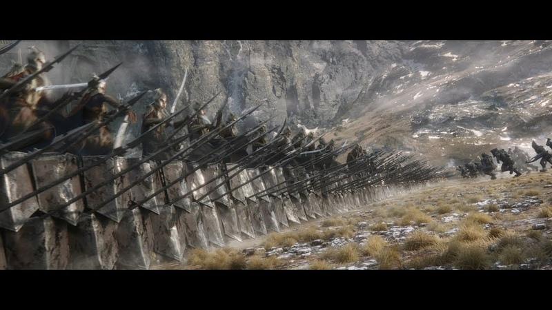 Эльфы и гномы сражаются бок о бок против общего врага HD