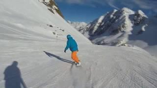 Инсбрук, Альпы. Курорты Stubaier Gletscher, Patscherkofel, Olimpia Skiworld. Cнято на AC Robin Zed5