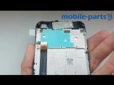 Сервисный дисплейный модуль в рамке Xiaomi Redmi Note 5A Black