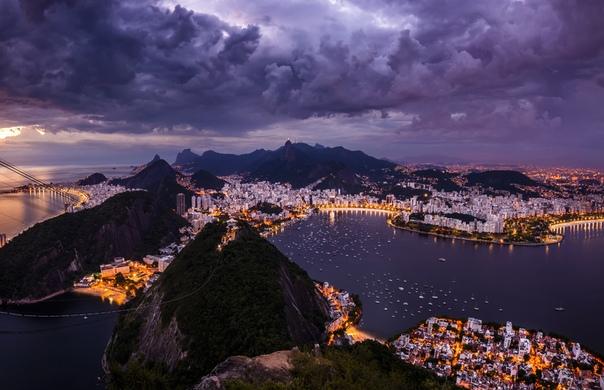 Вечерний Рио-де-Жанейро