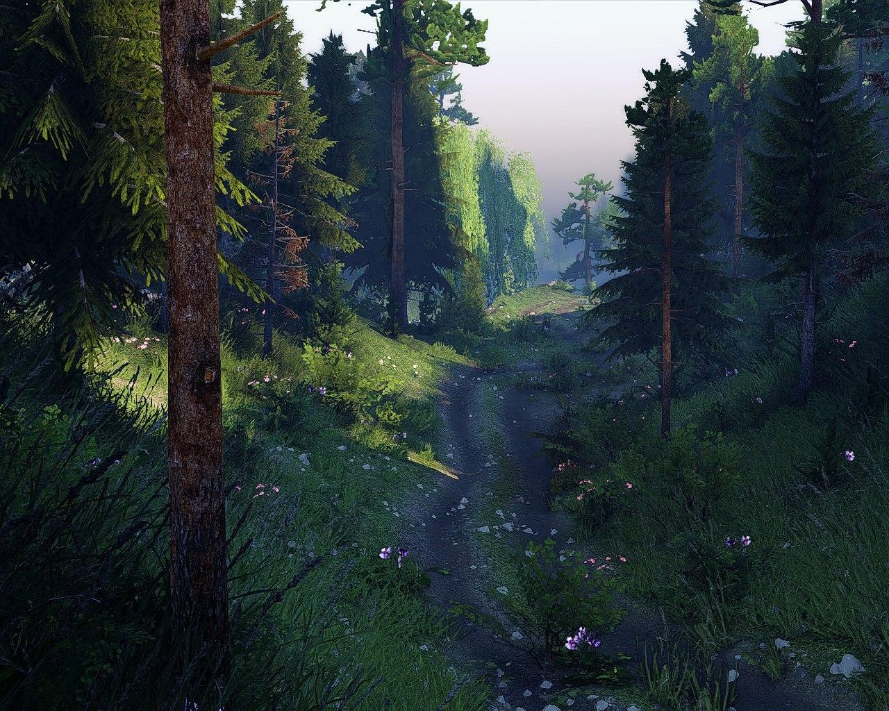 """Карта """"Faerie Hill"""" (13.04.15.) для Spintires - Скриншот 3"""