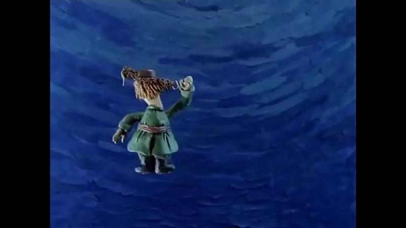 Падал прошлогодний снег (1983) Пластилиновый мультик - Золотая коллекция.mp4
