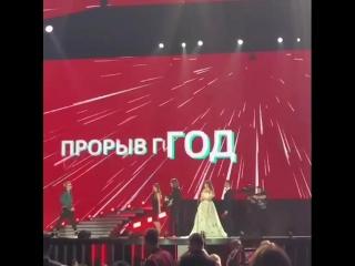 Регина Тодоренко на Премии Муз-ТВ(часть 3)