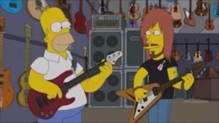Homer simpson plays DOOM SUNN O