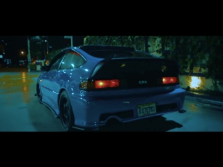 HONDA CRX (turbo) The Blue Devil