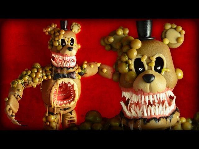 TWISTED FREDDY | FNAF : The Twisted Ones | Cold Porcelain / Polymer Clay Tutorial