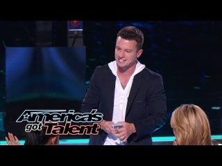 Mat Franco: Magician Wows Judges With Card Trick - America's Got Talent 2014