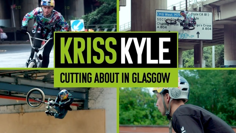 Kriss Kyle Cutting About Glasgow