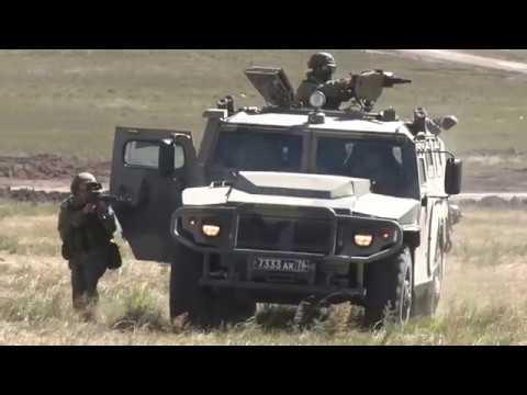 Учение со спецназом по отражению нападения диверсантов на маневрах Восток 2018