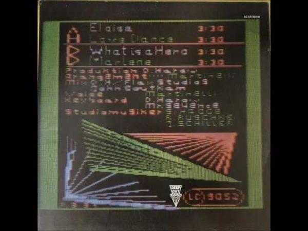 Den Harow - Eloise (Very Rare Synth-Pop)