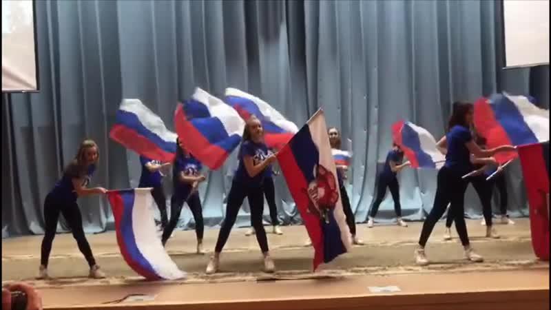 Выступление черлидинга СПК Ярополк