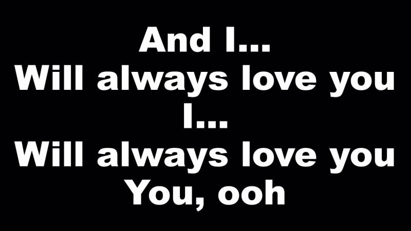 Whitney Houston - I Will Always Love You - Lyrics (Official Music Video) Tribute