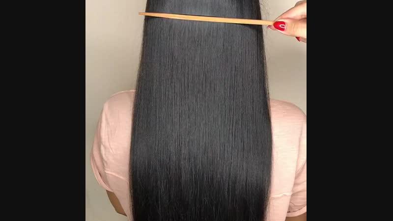 Процедура холодный Ботокс для волос KV-1, эффект от процедуры на шотенке.mp4