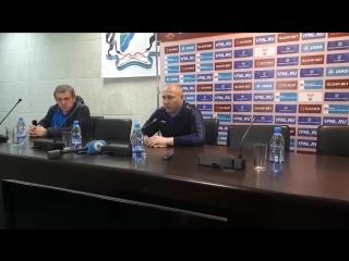Дмитрий Черышев после игры Сибирь - Нижний Новгород