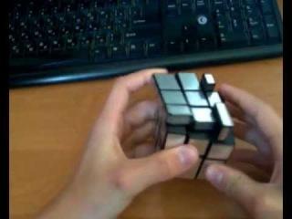 Сборка кубика Рубика 3х3 зеркального (второй и третий слои)