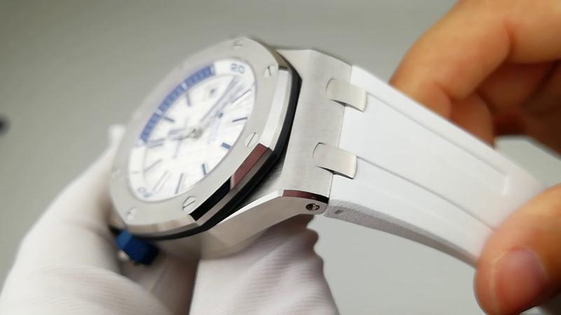 Noobwristwatch Super Clone watches Review JF Audemars Piguet 15710st Diver watch