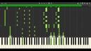 ONE OK ROCK「夜にしか咲かない満月」(Yoru ni shika sakanai Mangetsu) - Piano MIDI Version