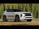 2018 Mitsubishi GT PHEV Concept interior Exterior and Drive