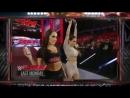 WWE RAW, 09_02_15_ Paige Vs. Brie Bella, Español - Latino