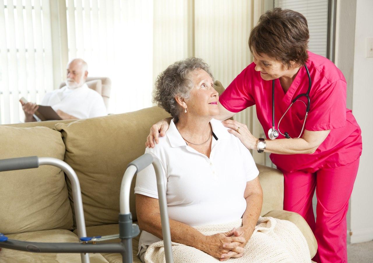 Оказание ухода пациентам с инвалидностью на дому