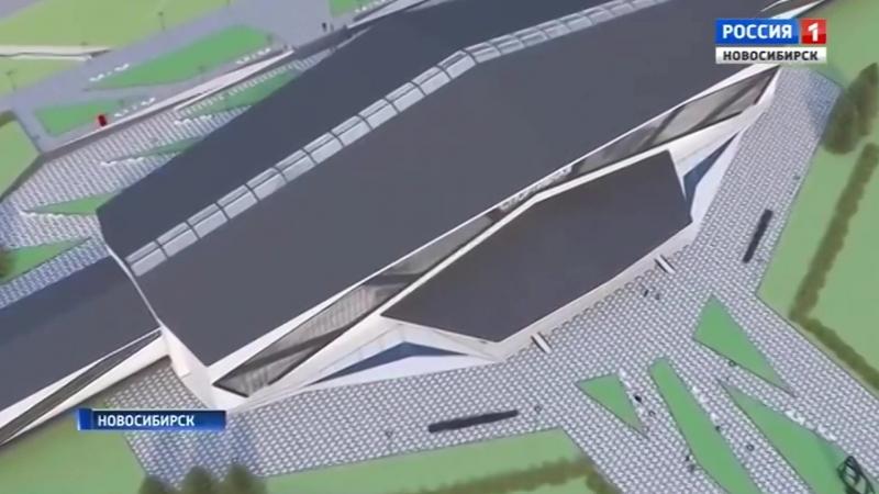 Сюжет телеканала Вести Новосибирск о новой станции метро Спортивная