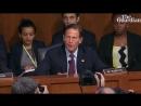 Brett Kavanaugh: protests disrupt Senate supreme court hearing