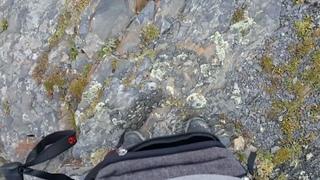 """Roman on Instagram: """"Прогулка по гребню горы. Хотели бы так пройтись?"""