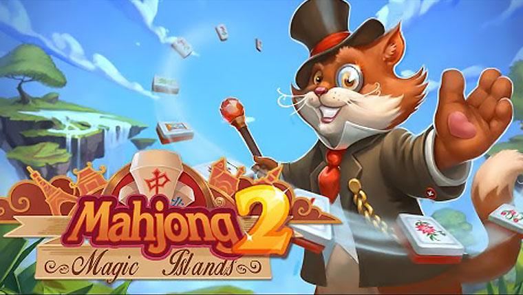 Маджонг Волшебные острова 2 | Mahjong Magic Islands 2 (Rus)