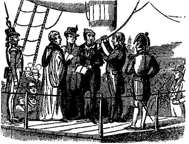 МЯТЕЖНЫЕ КОРАБЛИ СПИТХЕДА И НОРЫ (1797 год)