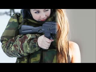 Как русская девушка сдала на берет