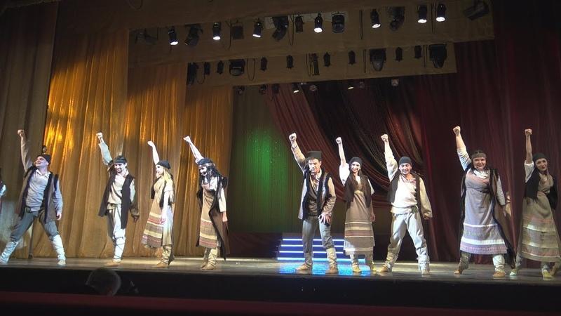 VOULEZ-VOUS из репертуара группы АВВА исполнили Егоровны и Архипы из мюзикла Дубровский