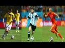 Хамес Родригес ● Лионель Месси ● Арьен Роббен ● Лучшие игроки чемпионата мира 2014 в Бразилии