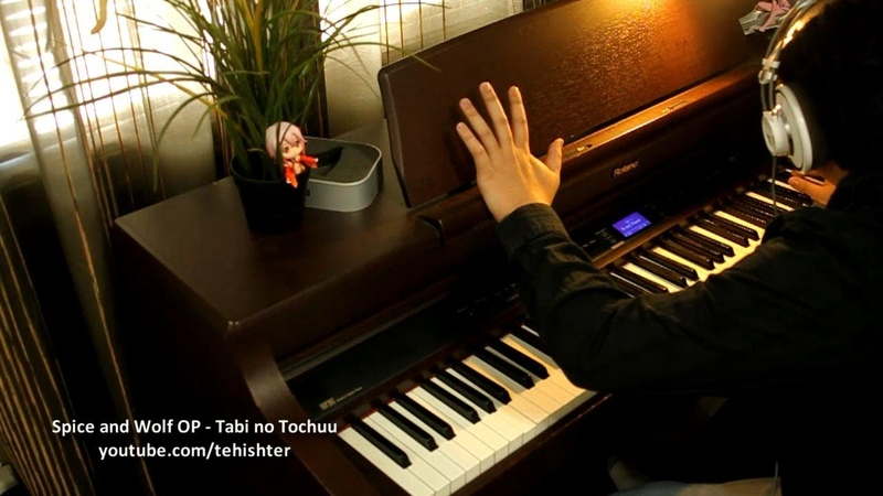Spice and Wolf OP - Tabi no Tochuu (Piano)