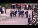 Члены королевской семьи прибывают в часовню, 12.10.2018