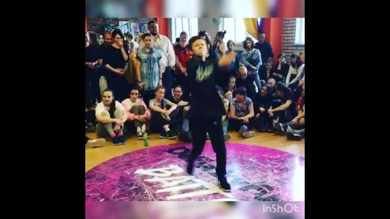 ONI @nickita_zn DeFunkyFunky battle hip hop selection
