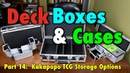 MTG - Deck Boxes 14 - A Review of KakaPopo TCG for Magic: The Gathering, Pokemon and more!