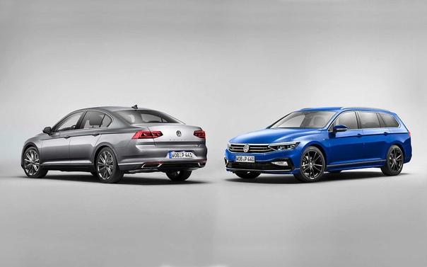 VW представил Passat с чистым дизелем.