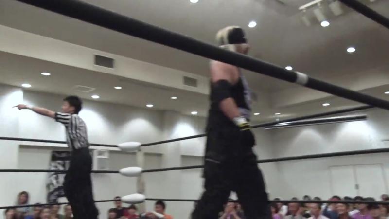 Minoru Fujita, Ryu Gouma, Yasu Urano vs. Akiyori Takizawa, Daiki Shimomura, Takumi Tsukamoto (BASARA - Pushing Forward)