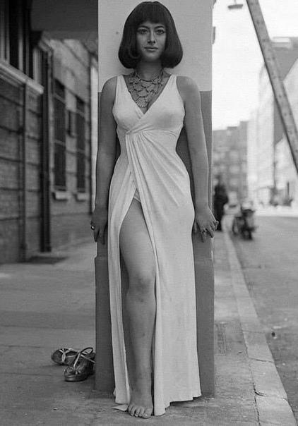 Портрет 20-летней Хелен Миррен в образе Клеопатры.