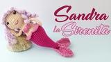 Sandra La Sirenita Familia De Sirenas Amigurumi Parte 1