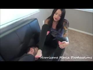 mariya foot worship