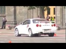 Nissan Skyline GT R R34 - Drifting Burnout the ROAD