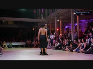 Jonathan Saavedra and Clarisa Aragon in Lodz Tango Salon 2017