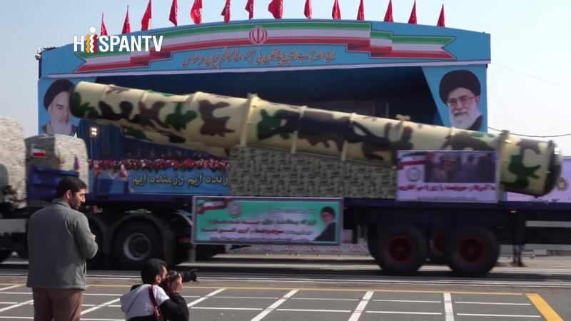 Irán celebra el Día Nacional del Ejército con un gran desfile militar