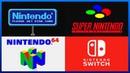 Evolution of Nintendo Startup Screens (1983 - 2017)