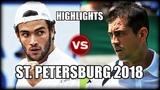 Matteo Berrettini vs Guillermo Garcia-Lopez ST. PETERSBURG 2018 Highlights