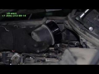 Как проверить уровень масла в двигателе на Ленд Ровер Дискавери 4( Land Rover Discovery 4)