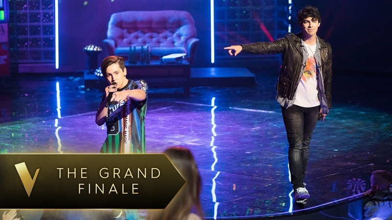 Joe Jonas Aydan Calafiore 'Shut Up and Dance' - The Voice Australia 2018